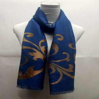 Heavy Brasso Stole- Dark Blue